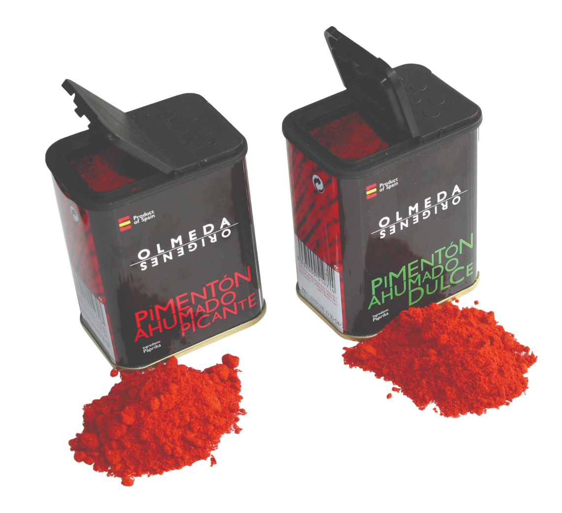 Paprika røget, mildt Pulver