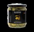 Manzanilla oliven u/sten