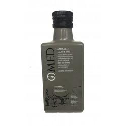 Koldpresset olivenolie Arbequina m/røg fra olivensten